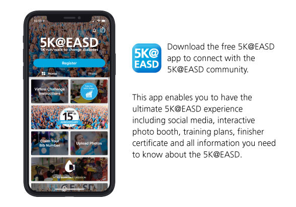 5K@EASD Mobile App